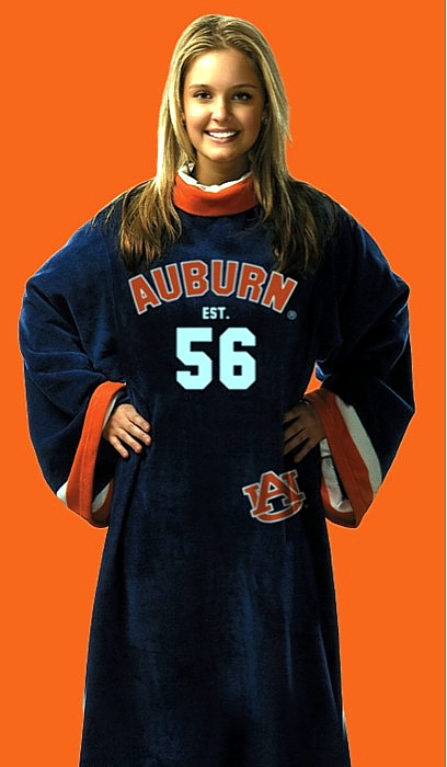 Auburn Tigers Uniform Snuggie