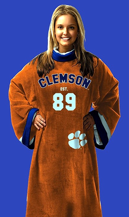 Clemson Uniform Snuggies