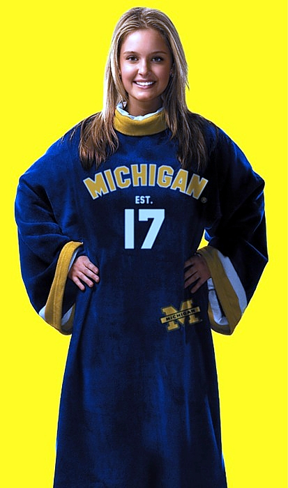 Michigan Uniform Snuggie