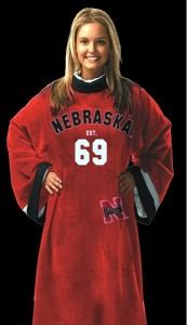 Nebraska Uniform Snuggie