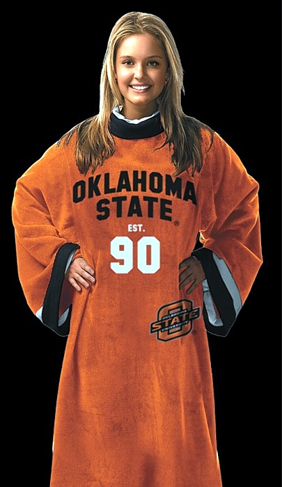 Oklahoma State Uniform Snuggie