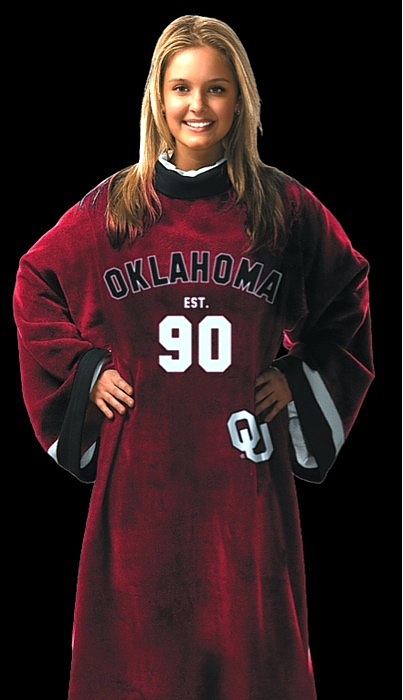 Oklahoma Sooners Uniform Snuggie