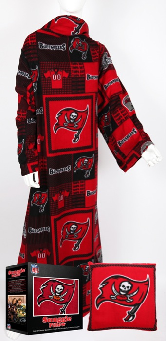 Tampa Bay Buccaneers Snuggie Pillow