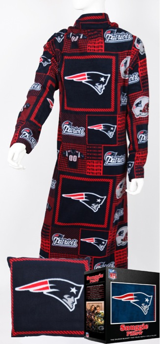 New England Patriots Snuggie Pillow