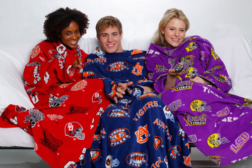 Can't get a girlfriend?  Get a Snuggie and soon you will have two.