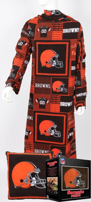 Cleveland Browns Snuggie Pillow
