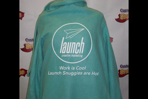 Customize Your Own Snuggie